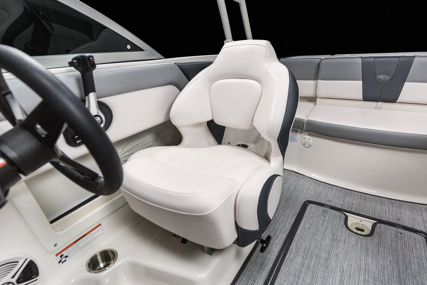 Image of a Lime Green - White 2019 19 Sport  Bucket Seat