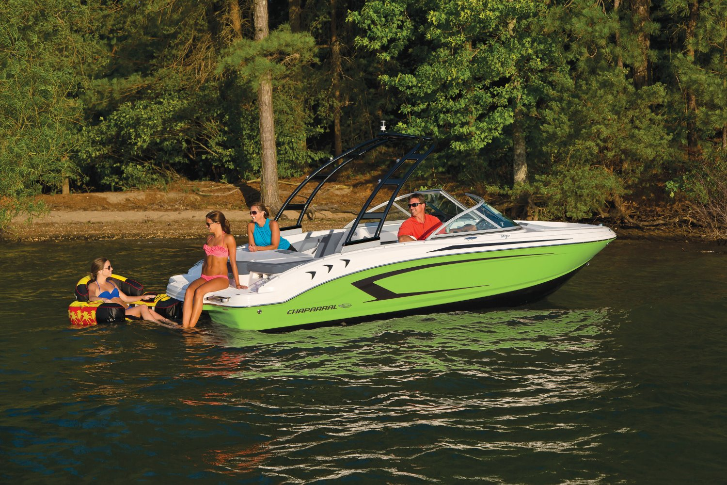 Image of a Lime Green - White 2019 19 Sport  Tubing
