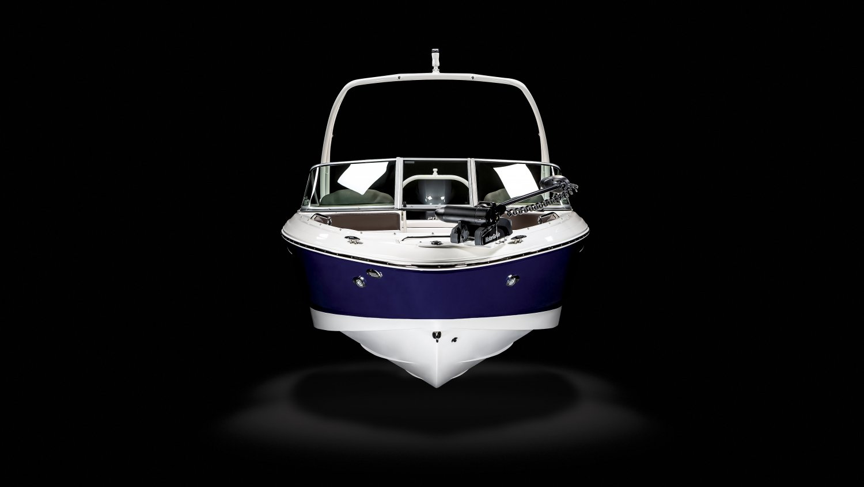 Image of a Solid Blue Hull 2021 21 OB Ski & Fish