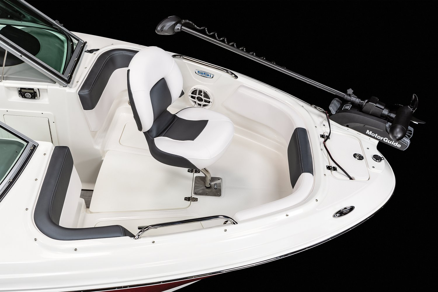 Image of a Alloy Gray Wide Band 2021 21 Ski & Fish