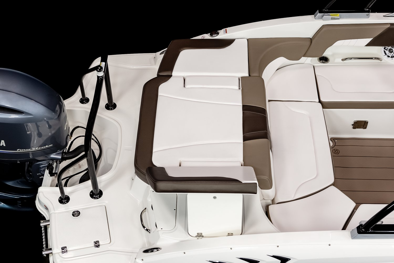 Image of a White 2021 23 OB