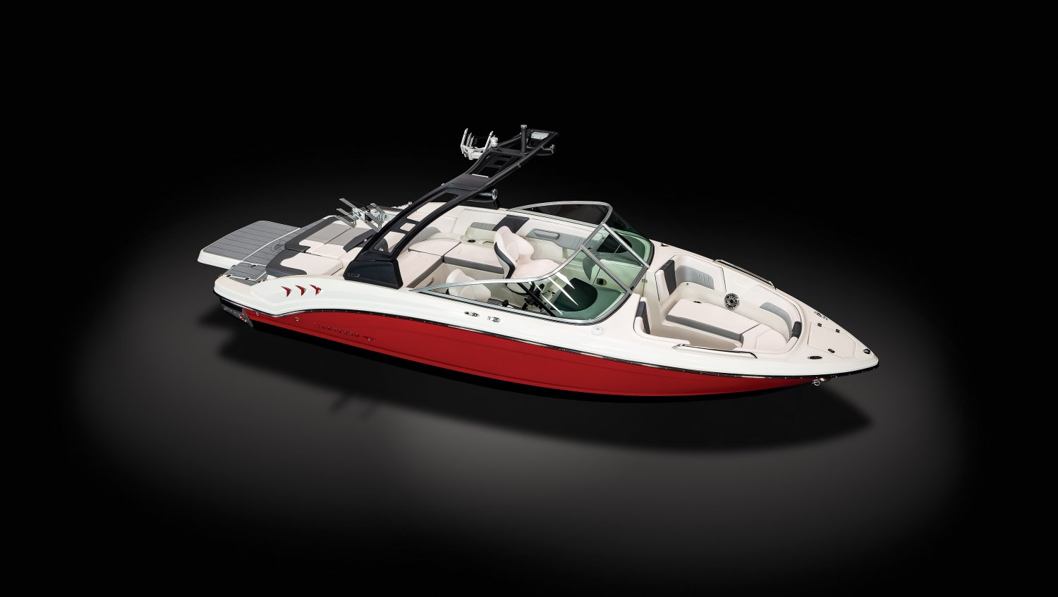 Image of a Solid Fire Red Hull 2021 23