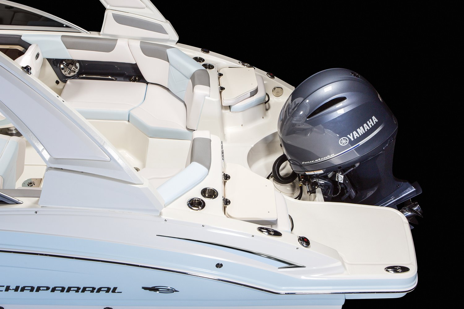 Image of a Sea Foam Green Wide Band 2020 230   Chaparral Boats. Our track record speaks for itself. Seeing Chaparral on top when it comes to performance, styling, value and innovation should come as no surprise... we've won more than 30 awards for product excellence, a feat few can claim.