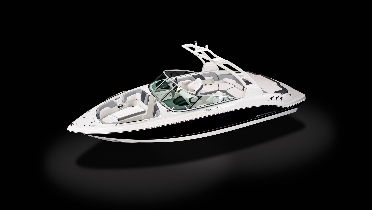 Image of a White 2021 23   Chaparral Boats. Our track record speaks for itself. Seeing Chaparral on top when it comes to performance, styling, value and innovation should come as no surprise... we've won more than 30 awards for product excellence, a feat few can claim.