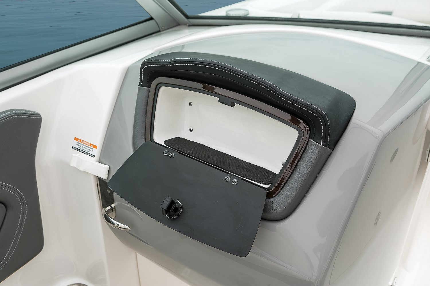 Image of a Solid Blue Hull 2018 244 Sunesta  Glove Box