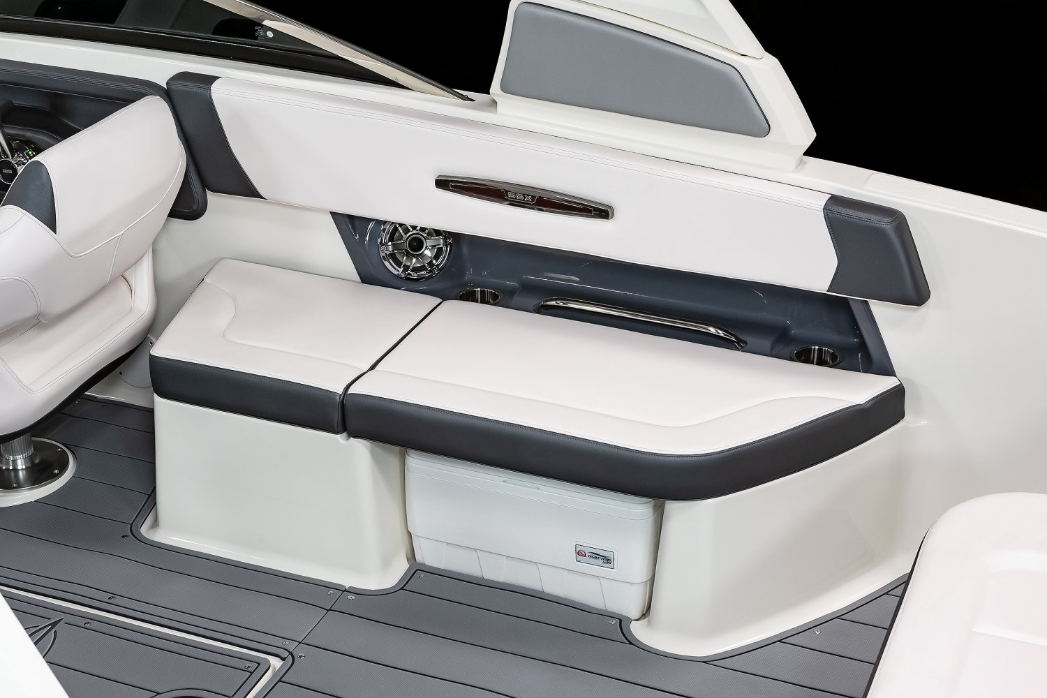Image of a Black Edition 2022 307   Chaparral Boats. Our track record speaks for itself. Seeing Chaparral on top when it comes to performance, styling, value and innovation should come as no surprise... we've won more than 30 awards for product excellence, a feat few can claim.